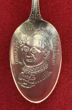Rare Sterling Silver Advertising Spoon Lydia E. Pinkham Yours for Health 1800s