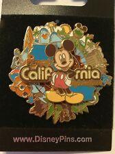 Disney California Adventure Mickey Spinner Stitch Pin