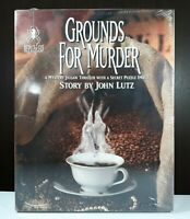 "BePuzzled ""Grounds For Murder"" Mystery Jigsaw Thriller Puzzle Vintage 1000 Piece"