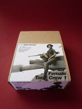 SOL RESIN FACTORY, MM225, IDF Female Tank crew 1 , SCALE 1:16