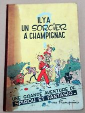 SPIROU IL Y A UN SORCIER A CHAMPIGNAC  EO 1951 FRANQUIN BON ETAT