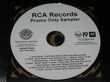 RCA Sampler Promo CD! PITBULL Chris Brown USHER Kelly Clarkson ADAM LAMBERT