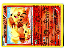 POKEMON BW11 BLACK & WHITE LEGENDARY TREASURES SPC N° RC4/RC25 GROWLITHE CANINOS