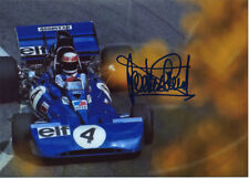 Jackie Stewart Signed 5X7 inches Tyrrell Ford Elf 4 Photo