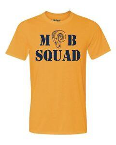 MOB SQUAD LA Rams T Shirt Brand New