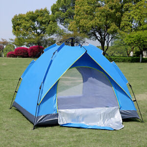 Portable Outdoor Family Camping Tent Waterproof Automatic Opening Ventilation