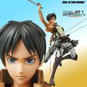 Medicom Toy Real Action Heroes No.668 Attack on Titan Eren Yeager 1/6 Scale New