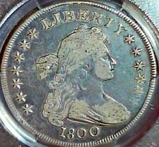 1800 $1 Draped Bust Dollar PCGS VF 20 no problems coin