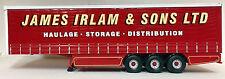 CORGI MODERN TRUCK CURTAINSIDE TRAILER JAMES IRLAM T258