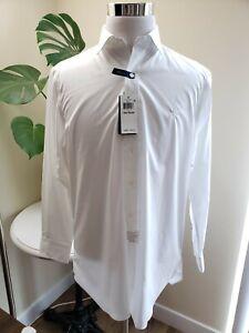 NWT Polo Ralph Lauren Mens Button Down Dress Shirt 15 1/2,161/2,17 32/33 White