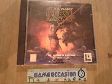 STAR WARS REBEL ASSAULT 2 II PC CD-ROM COMPLET