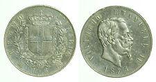 pci0477) Regno Vittorio Emanuele II  lire 5 scudo 1875 Mi
