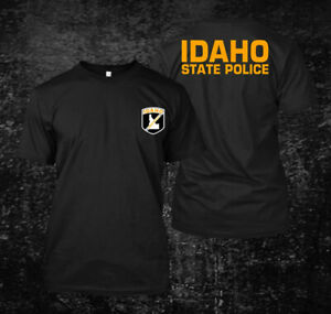 Idaho State Police Yellow - custom men's T-Shirt Tee