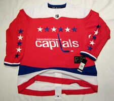 WASHINGTON CAPITALS size 52 = Large 3rd Style ADIDAS NHL HOCKEY JERSEY Authentic
