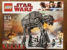 LEGO Star Wars 75189 First Order Heavy Assault Walker RETIRED NISB FREE SHIP