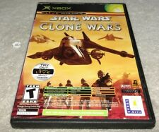 Star Wars: The Clone Wars And Tetris Worlds (Microsoft Xbox, 2003) COMPLETE
