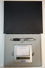 James Bond 007 Rare Travel Alarm Clock / Photo Frame & Pen Set Promotional NEW
