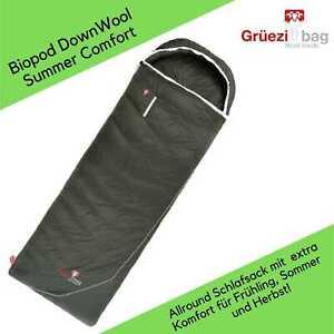 Grüezi Bag - Biopod Down Wool Summer Comfort - Schlafsack