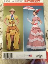 SIMPLICITY  8159 COSPLAY STEAMPUNK POPPINS LOLITA MISSES  SIZES 6-14  UNCUT