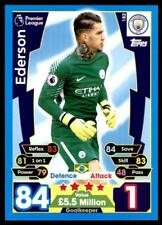 Match Attax 2017-18 Ederson Manchester City No. 182