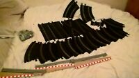 Job Lot Of Vintage Scalextric Track Spare Or Repair borders side swipes