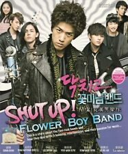 Shut up ! Flower Boy Band (Korean TV Series) DVD English Sub_Region 0_ Sung Joon