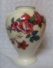 "NORITAKE DAMASK BOUQUET VASE 6.5"" FLORAL PRIMACHINA JAPAN"