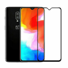 For OnePlus 5T Screen Protector Tempered Glass Full Glass Coverage Black