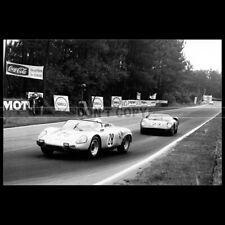 Photo A.013030 PORSCHE 718 W-RS SPYDER 24 HEURES DU MANS 1963 24H LE MANS RACE