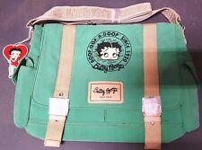 New BETTY BOOP Licensed Messenger Bag (Green color) U.S. Seller