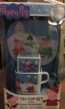 Peppa Pig Tea Cup Set With Candy Snowflakes