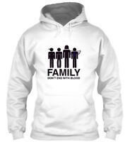 Super Natural Family Dont End With... - Don't With Gildan Hoodie Sweatshirt