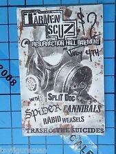 Sideshow 1:6 The Dead Biohazard Subject 245: Punk Zombie Figure - Concert Flyer