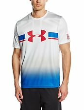 Under Armour Fitness T-Shirt, Größe L, loose fit - GBR - Land of hope and glory