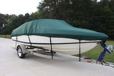 NEW VORTEX COMBO PACK HEAVY DUTY GREEN 23 24' BOAT COVER + SUPPORT SYSTEM