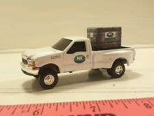 1/64 CUSTOM Ford f350 northrup king nk TRUCK WITH probox of beans  ERTL farm toy