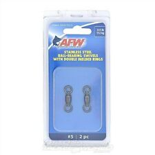 AFW Stainless Steel BB Swivels NEW @ Otto's Tackle World