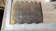 Knife making steel from saw mill resaw blade 2-3 pounds of metal high carbon 1/8