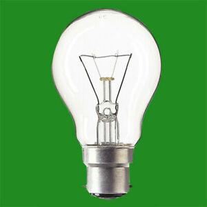 10x 150W Incandescent Clear GLS Dimmable BC B22 Bayonet Cap Light Bulbs lamp