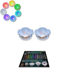 UltraPoi - UltraKnob LED Inserts (Pair 2) - For Flow Poi Knob Raves and Concerts