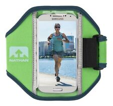 Nathan Super 5k Running Armband iPhone 5/SE/6, Galaxy S4/S5 Andean Toucan Green