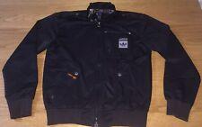 Adidas Safety Bomber Style Jacket Size S Small Black