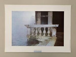 JOHN BATHO, VENICE,1983 MEGA RARE 1980's ART PRINT