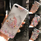Shockproof 360° Silicone Unicorn Clear Case Cover For Apple iPhone 6 7 plus New