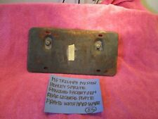 MG TRIUMPH AUSTIN HEALEY SPRITE FACTORY REAR LICENSE PLATE BRACKET FREE SHIPPING