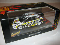 1:43 Ford Focus RS WRC V. Rossi Monza Rallye 2008 MINICHAMPS LE 400088946 new