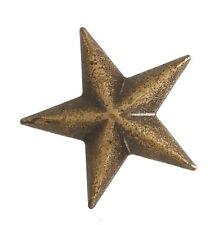 """5540-RC 3/4"""" Antique Brass Stars Decorative Rivet Conchos"""