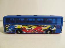 """Majorette Diecast Autocar Tour Bus """"Lightning Travel"""" 3000 series #3046"""