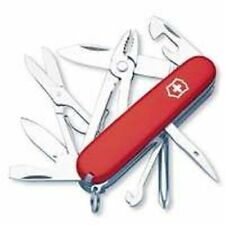 NEW IN BOX SWISS ARMY 53481 RED  DELUXE TINKER  MULTI TOOL VICTORINOX KNIFE