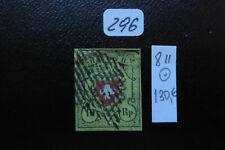 Schweiz 1850 Mi 8II ( RAYON II ) gestempelt !